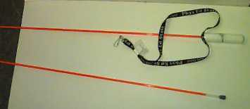 Adapted jump rope.